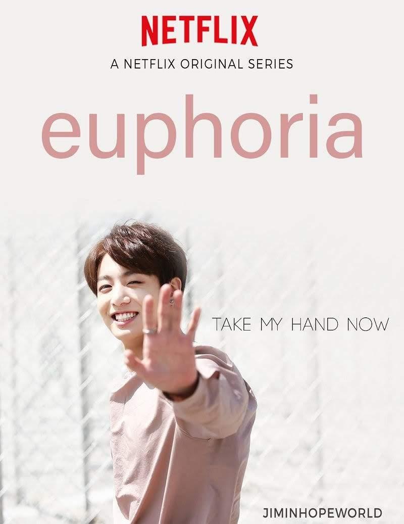 Jungkook Euphoria as netflix fanart