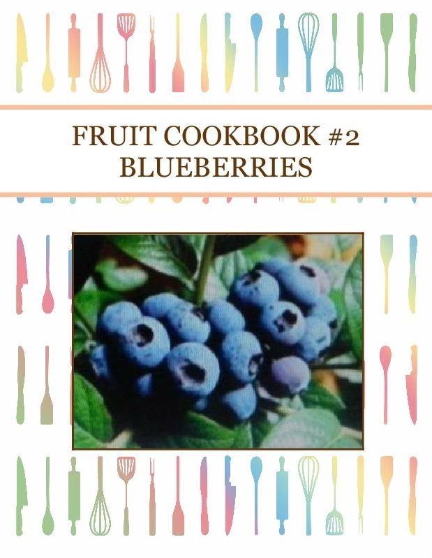 FRUIT COOKBOOK #2 BLUEBERRIES