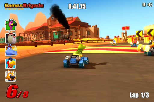 Go Kart Go! Ultra! APK MOD screenshots 1