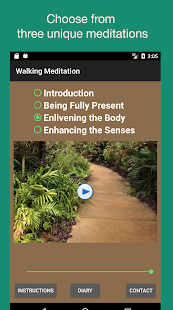 Walking Meditations- screenshot thumbnail
