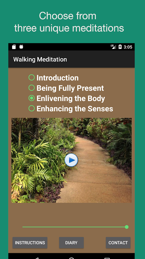 Walking Meditations- screenshot