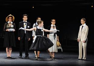 "Photo: BÉATRICE ET BÉNÉDICT als Jugendprojekt im Theater an der Wien. Premiere 26.4.2013, ""Ensemble Jugend an der Wien"". Foto: Barbara Zeininger."