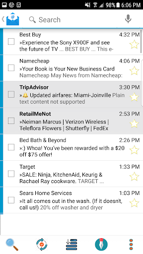 Email App for Android - MailTrust 57.7 screenshots 5