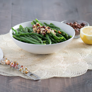 French Green Beans with Hazelnut Butter.