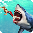Crazy Water Shark Ocean: New Games icon