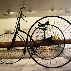 Old Bycicle by Alnia Furwani Maulina - Artistic Objects Antiques