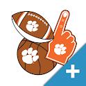 Clemson Tigers PLUS Selfie Stickers icon