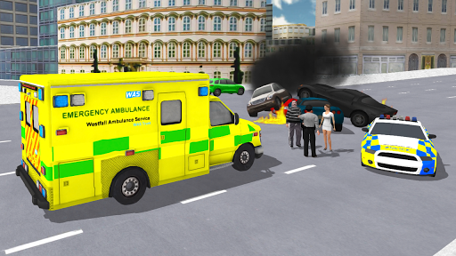 Ambulance Simulator - Car Driving Doctor - screenshot