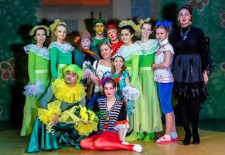 """Photo: Участники спектакля """"приключения дурочки-Нюрочки"""" (Дипломная работа Анны Ишутиной)"""