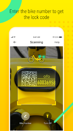 ofo - Smart Bike Sharing app (apk) free download for Android/PC/Windows screenshot