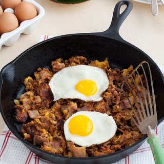 Acorn Squash Breakfast Hash