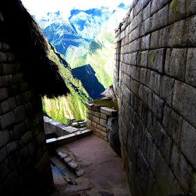 City of Machu Picchu by Ellason Boyle - City,  Street & Park  Historic Districts ( march break, peru, machu picchu, trip )