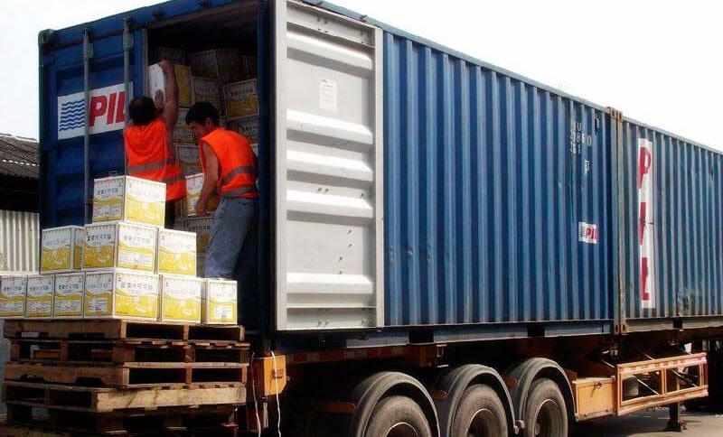 Перевозка груза который занимает полный контейнера FCL