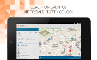 Screenshot of TuttoCittà MAP