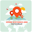 Speed Distance & Map Display icon