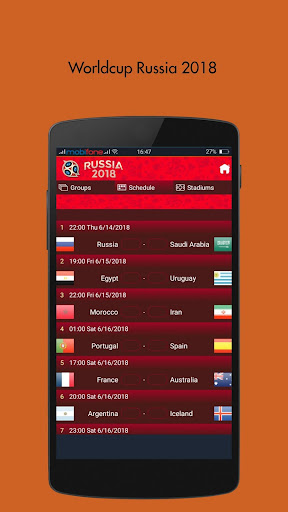 Football 365 WorldCup 2018 live score  2