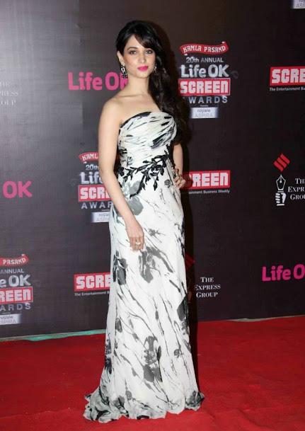 Tamannaah Bhatia at Life OK Screen Awards 2013