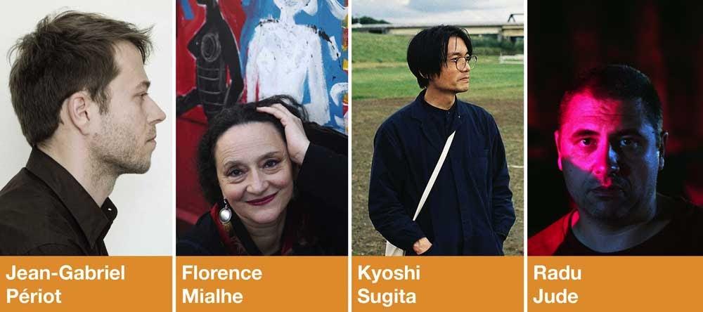 Jean-Gabriel Périot, Florence Miailhe, Kyoshi Sugita y Radu Jude