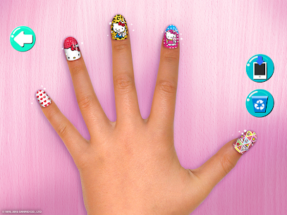Hello Kitty Nail Salon 4