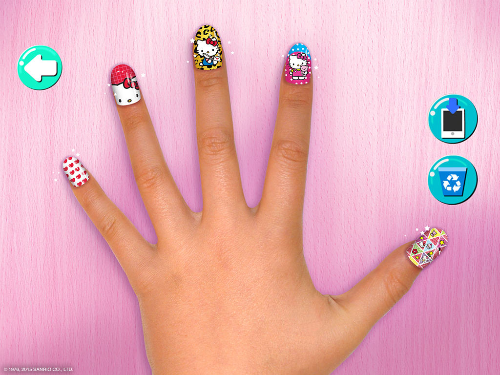 Hello kitty nail salon android apps on google play hello kitty nail salon screenshot prinsesfo Images