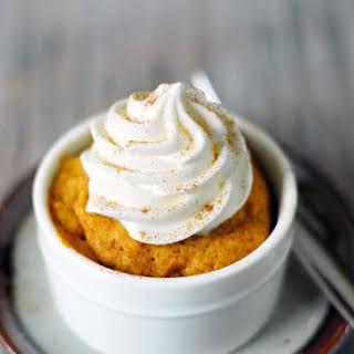 Pumpkin Mug Cake.