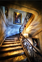 Photo: Going up the stairs in the Chateau... from Trey Ratcliff at http://www.StuckInCustoms.com