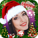 Christmas Face Stickers & Photo Frames icon