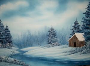 "Photo: 3102 Before The Snowfall.  24"" x 36"""