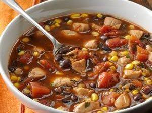 Chicken And Black Bean Soup Recipe