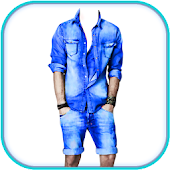 Man Casual Wear Dress Photo Montage