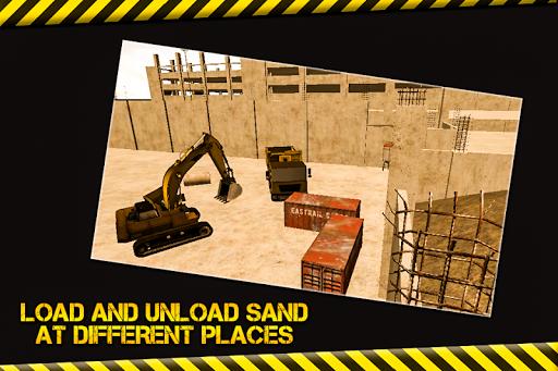 玩免費模擬APP|下載施工挖掘機 sim 卡 app不用錢|硬是要APP