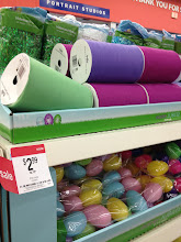 Photo: I saw some spools of colored tulle and just had to get one. I love using tulle in my decorating and this will be great for garland or for making bows. I love that they had this option. I grabbed a green one.