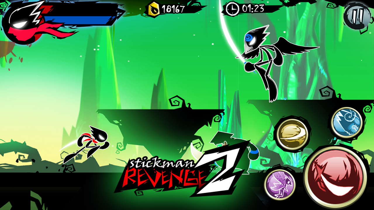 Stickman Revenge 2- screenshot