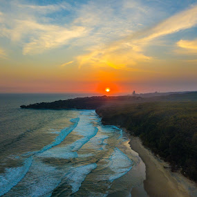 Beautiful Beach by Irfan Firdaus - Landscapes Sunsets & Sunrises ( travel photography, mountains, nature, sunset, indonesia,  )