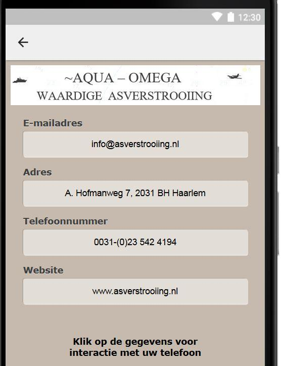Aqua Omega: screenshot