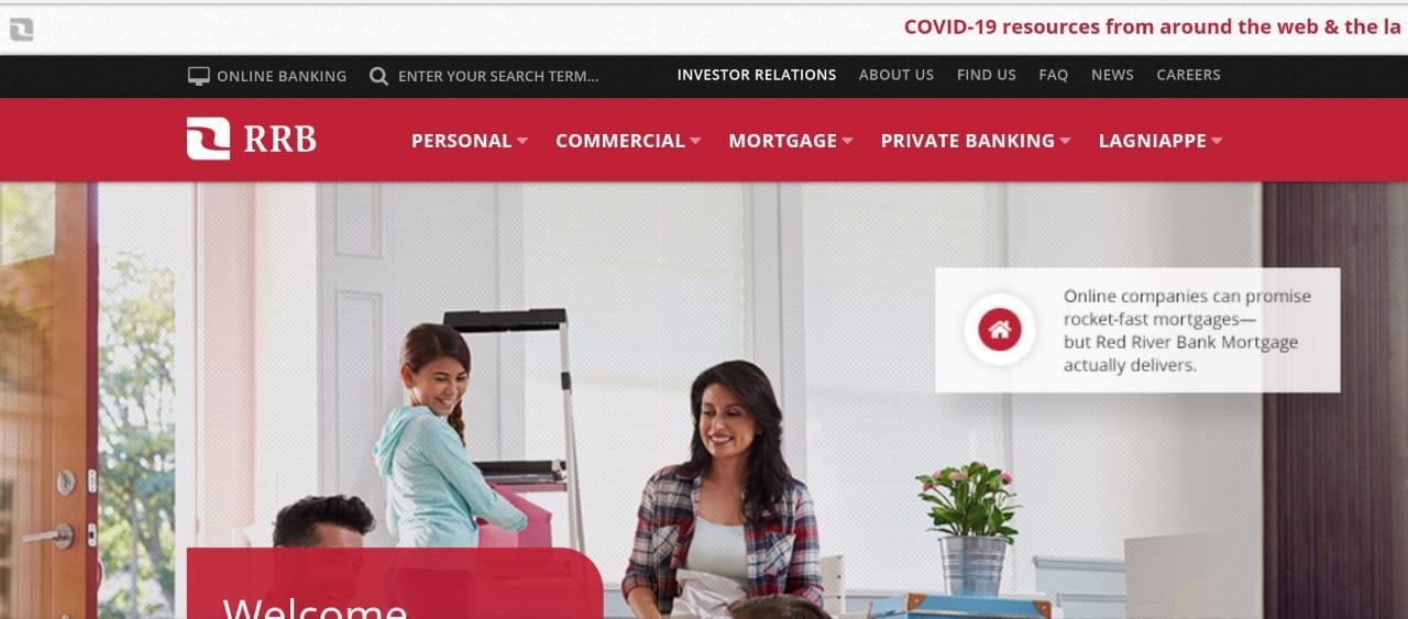 Red River Bank Online Bank Login