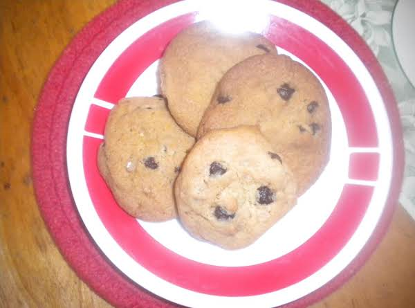 A Cross Between Chocolate Chip And Toffee Cookies.