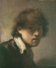 Photo: Rembrandt, Self-Portrait, 1629