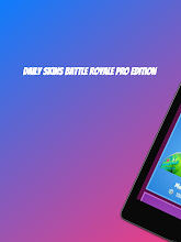 Daily Skin for Battle Royale PRO Edition 2019 screenshot thumbnail