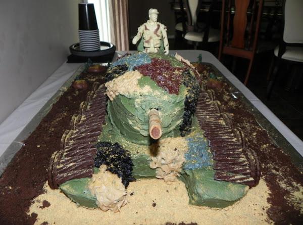 Army Tank Cake Recipe