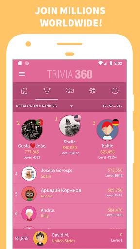 TRIVIA 360 2.1.1 screenshots 2