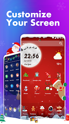 Hello Launcher - Love Emoji & 3D Wallpapers, GIFs APK screenshot thumbnail 1