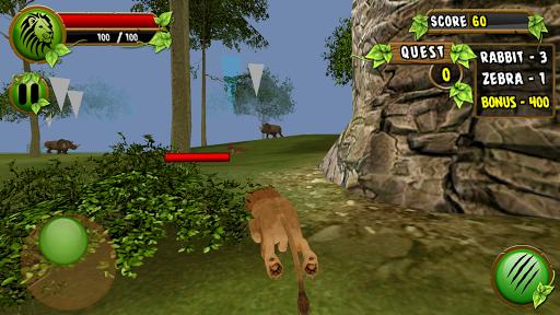 Lion Survival in Safari Sim