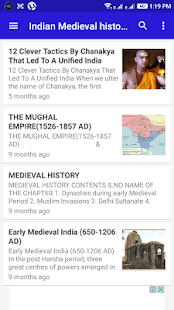 Indian History - Material - náhled