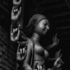durgs+ by Pranjal  Kumar Ƿrānx - Buildings & Architecture Statues & Monuments ( durga,  )