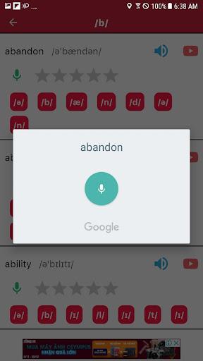 english pronunciation screenshot 2