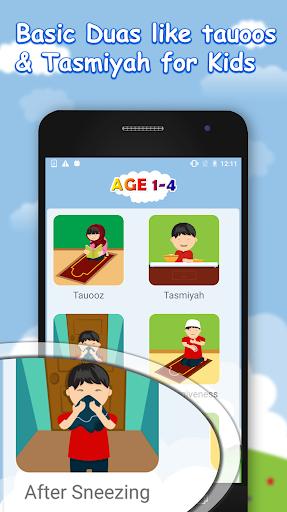 Daily Dua for muslim kids:Salah Kalima,Masnoon dua 1.1 screenshots 8