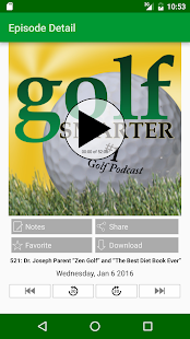 Golf Smarter- screenshot thumbnail