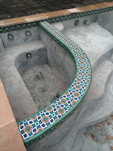 Photo: Malibu Tile Works - Pool & Spa Decorative Tiles Private Residence - Berkeley, CA