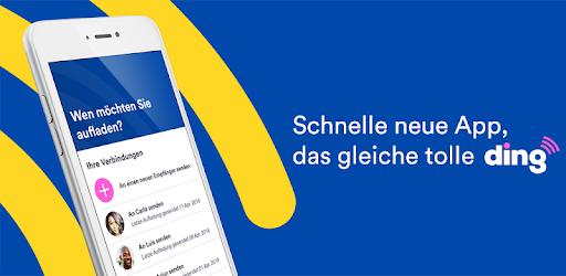 Ding Top-up: Handyguthaben senden – Apps bei Google Play